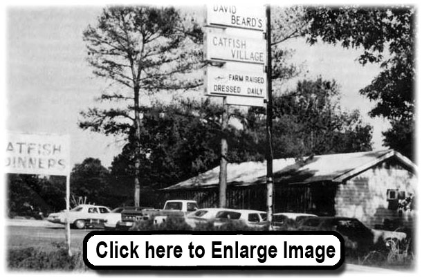 The original location in Ore City, TX 1968